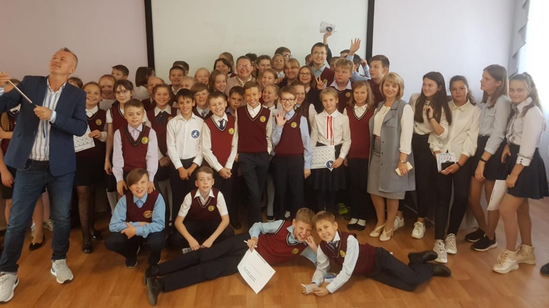 17 сентября ученики новосибирской школы №214 им. Е. П. Глинки изучали основы доброты