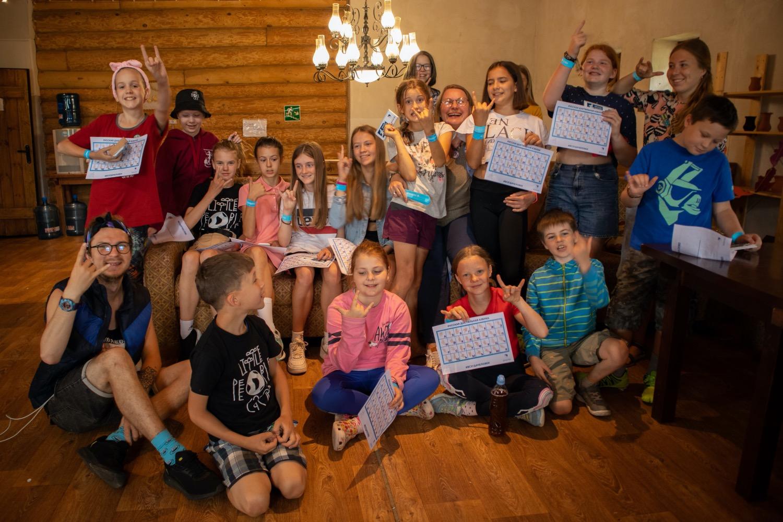 19 августа мы провели Урок доброты в детском билингвальном лагере Little People Camp